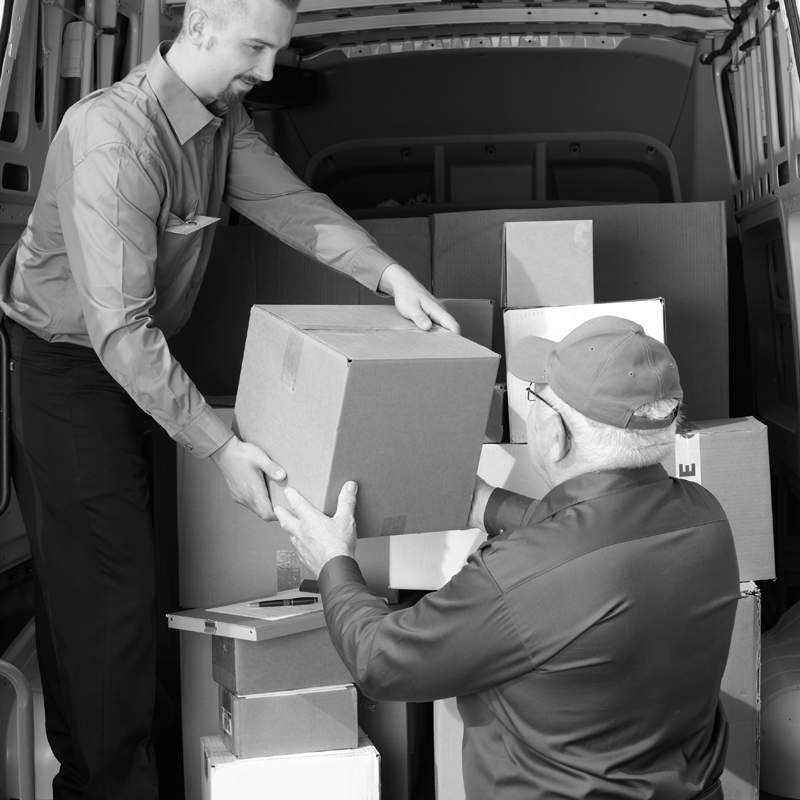 load - cargo - loading space - van - M-protect - Vehicle security - secure load space