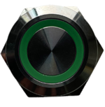 Green push button